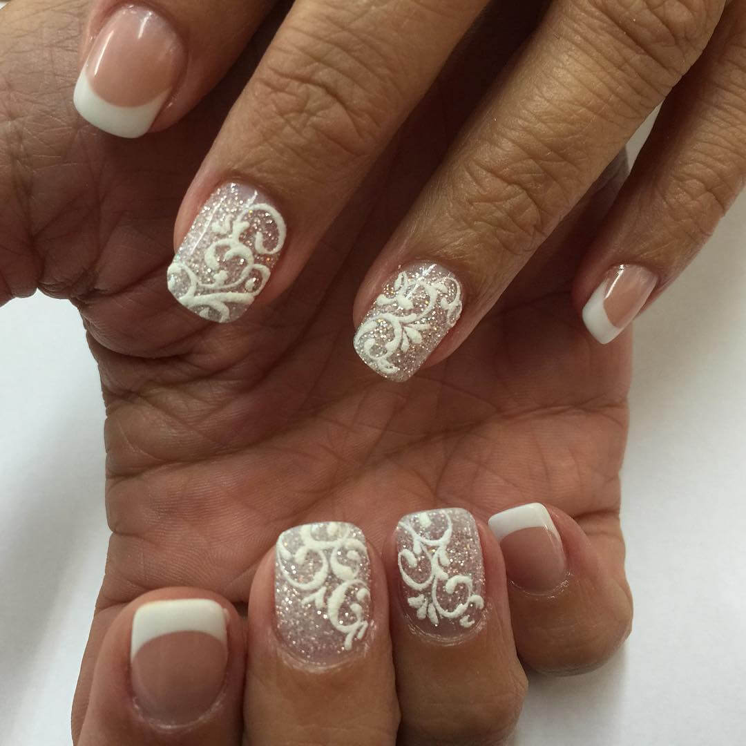Nail Tip Designs Ideas french tip nail designs ideas adorable french design ideas Nail Tip Designs Ideas 1