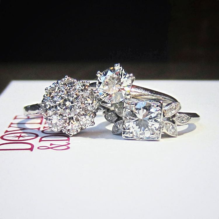 beautiful vintage diamond ring