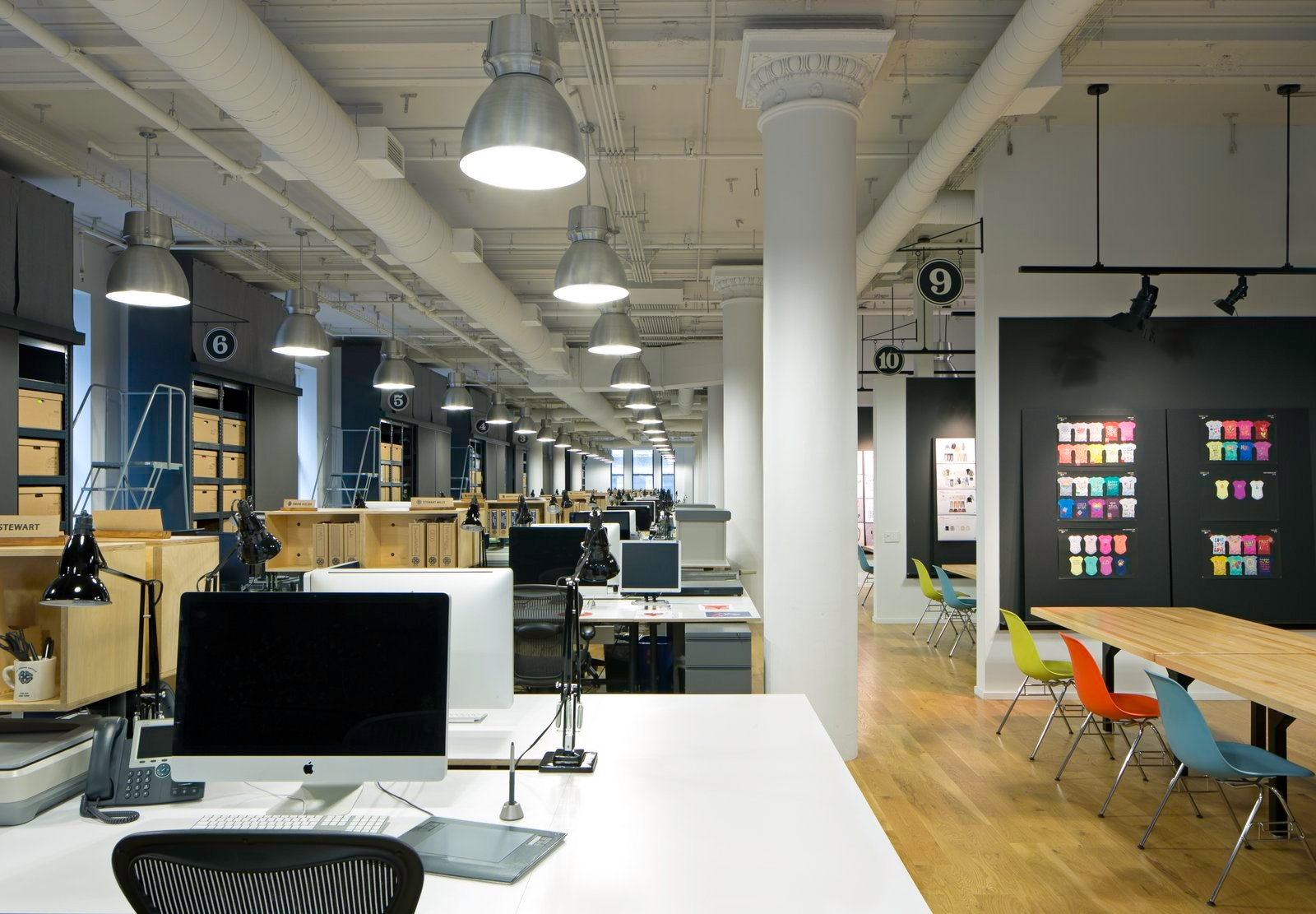Corporate Office Design Ideas oshkosh bgosh office in new york city Oshkosh Bgosh Office In New York City