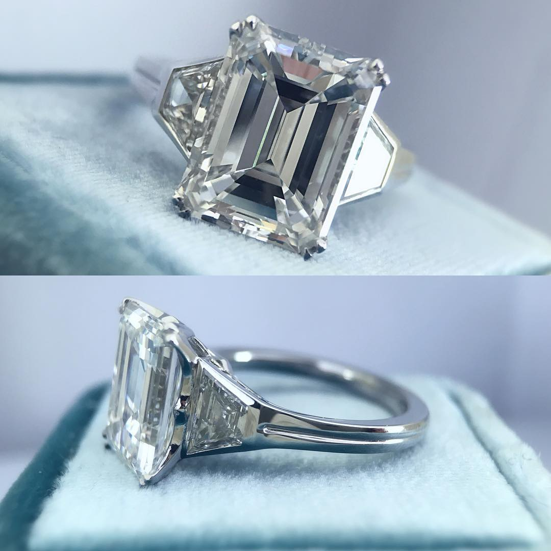 elegant vintage style diamond rings
