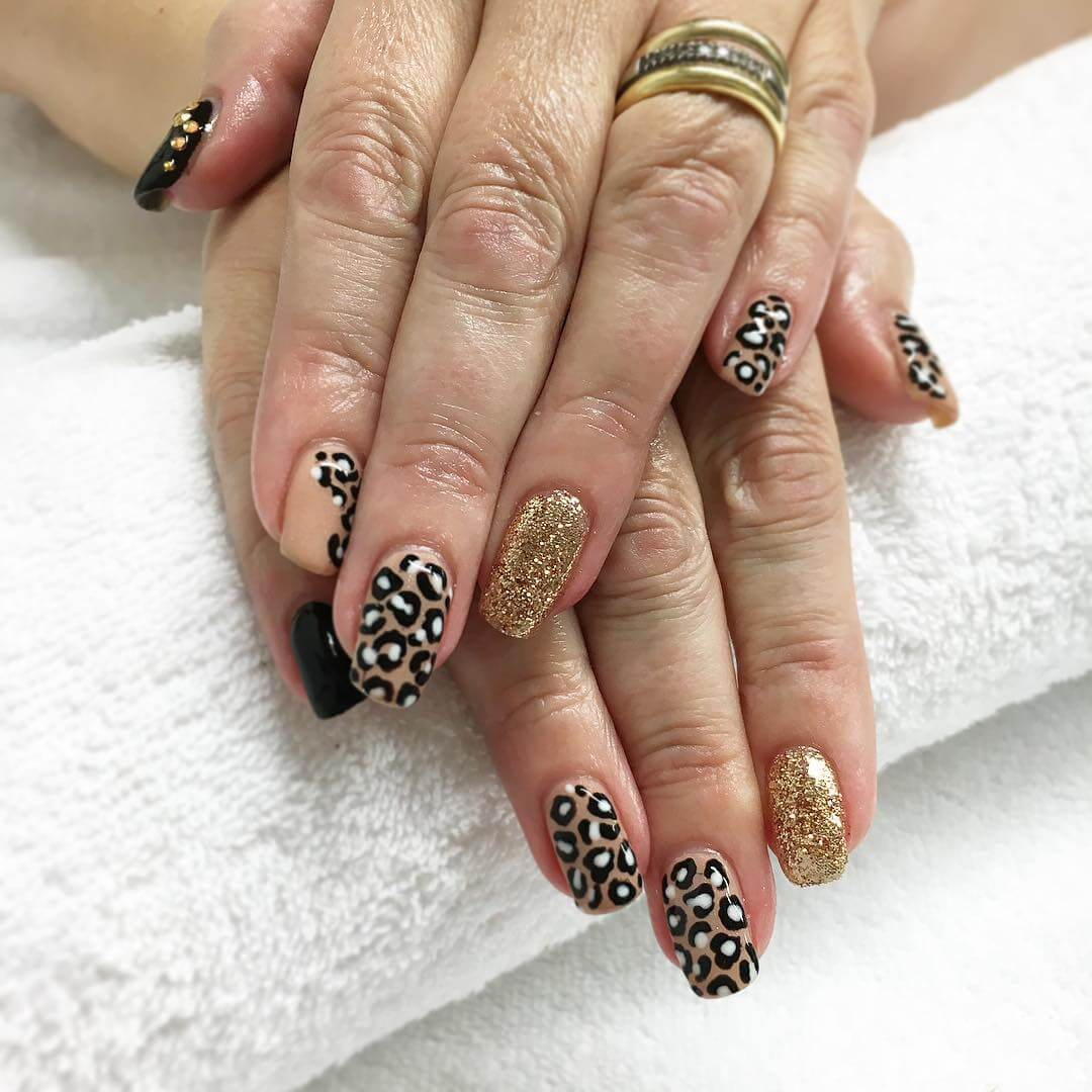 Awesome Leopard Nail Art Designs (1)
