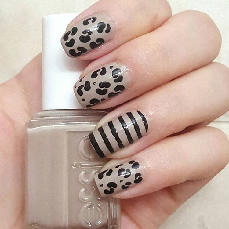 Easy Leopard Nail Designs (1)