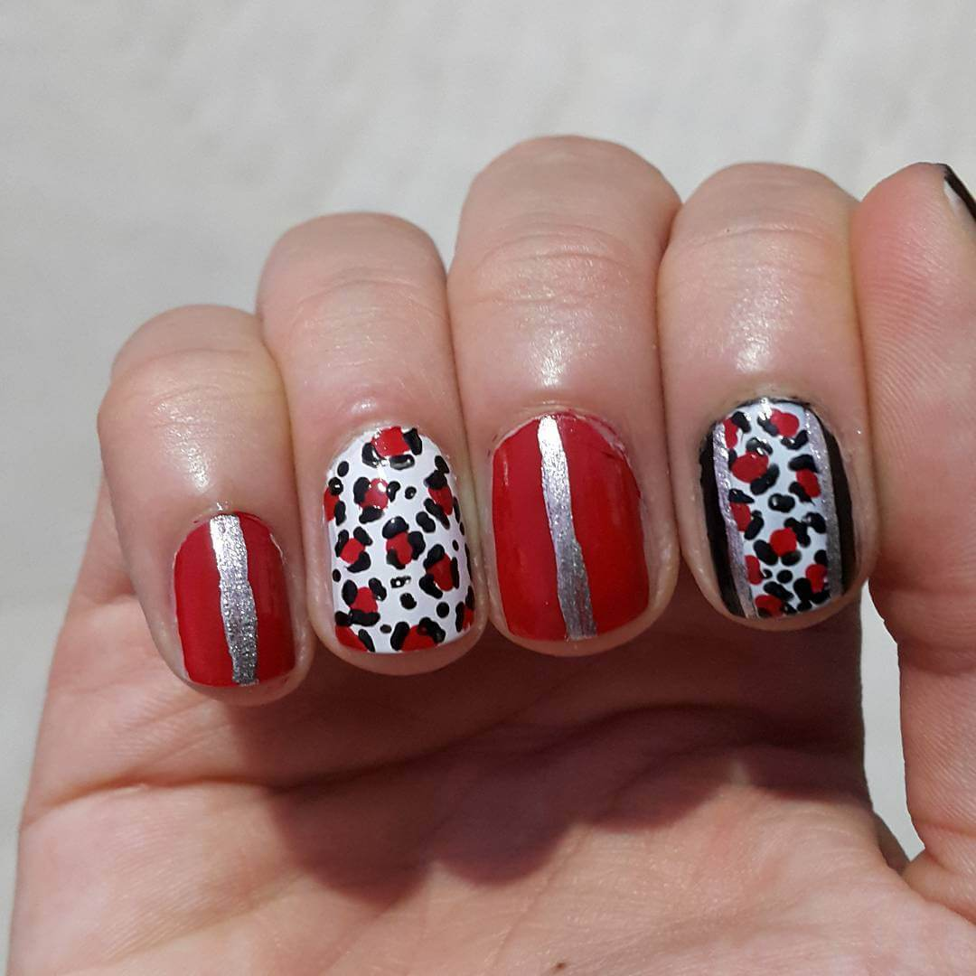 fabulous leopard nail art designs 1