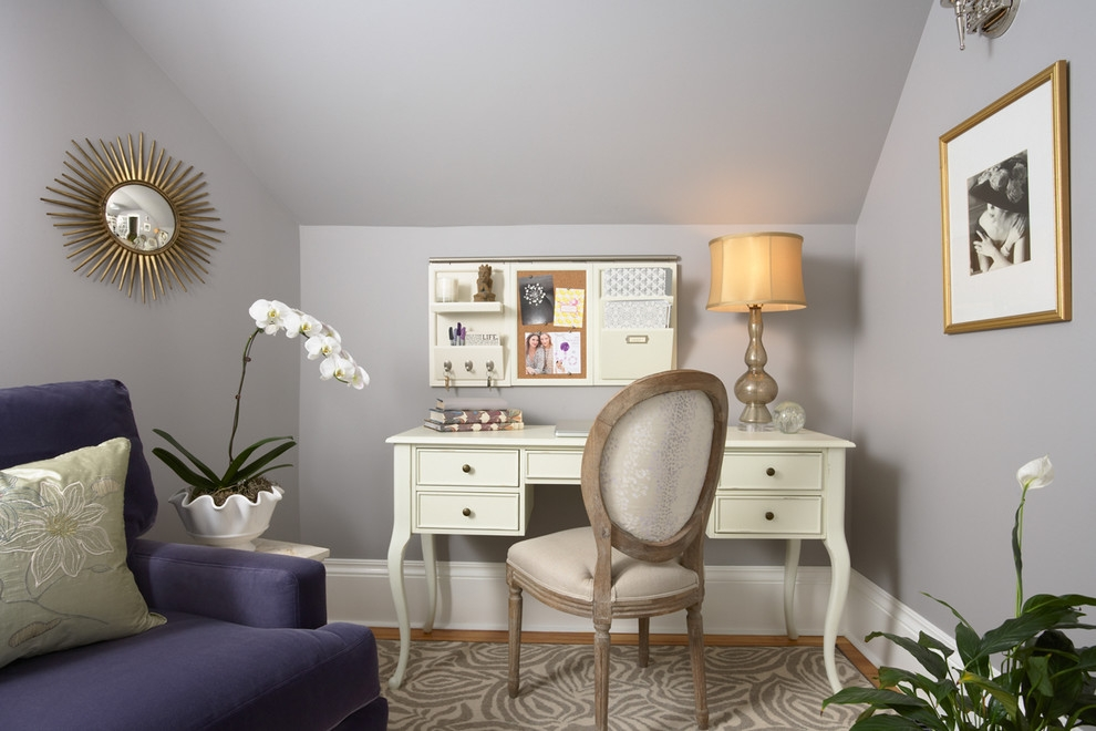 Modern Feminine Home Office