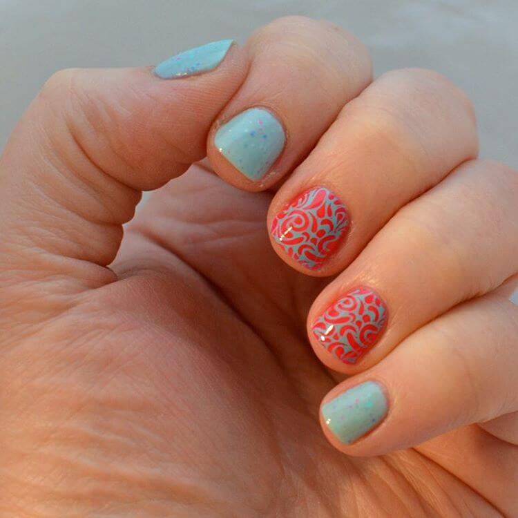 Simple Nail Art For Short Nails: 21+ Short Nail Art Designs, Ideas