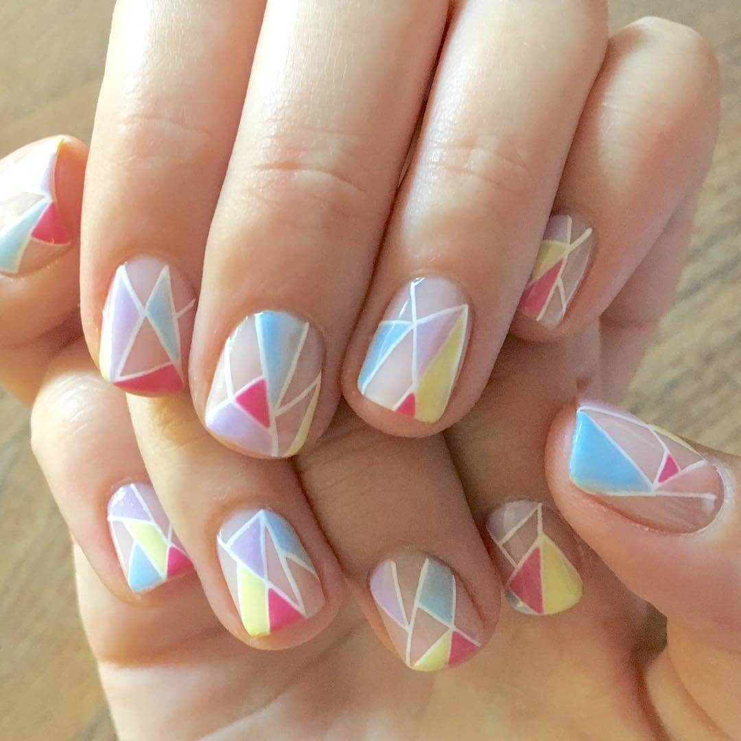 White Nail Ideas: 21+ Short Nail Art Designs, Ideas