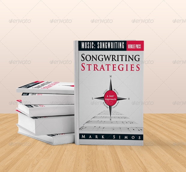 book mockups for songs writters