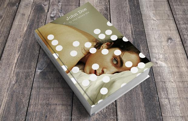 beautiful design of book mockup