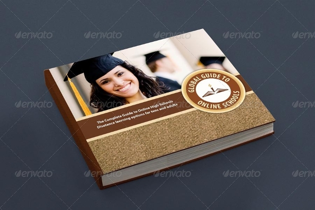 presentation book mockup design