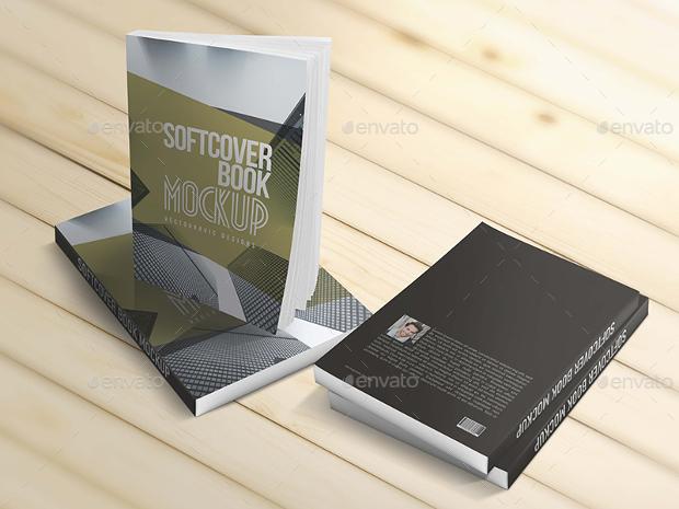 Book Mockup Template