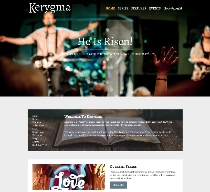 Non-Profit Church WP Theme\