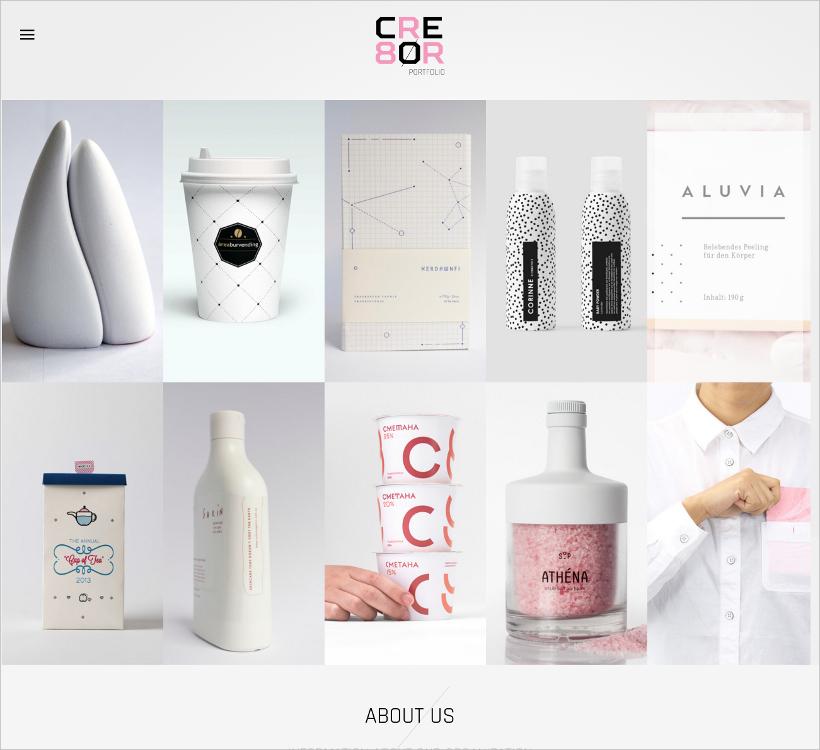 Clean & Minimal Portfolio Theme