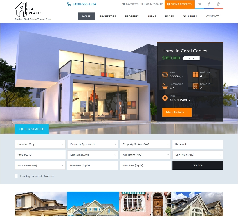 responsive real estate wordpress theme1