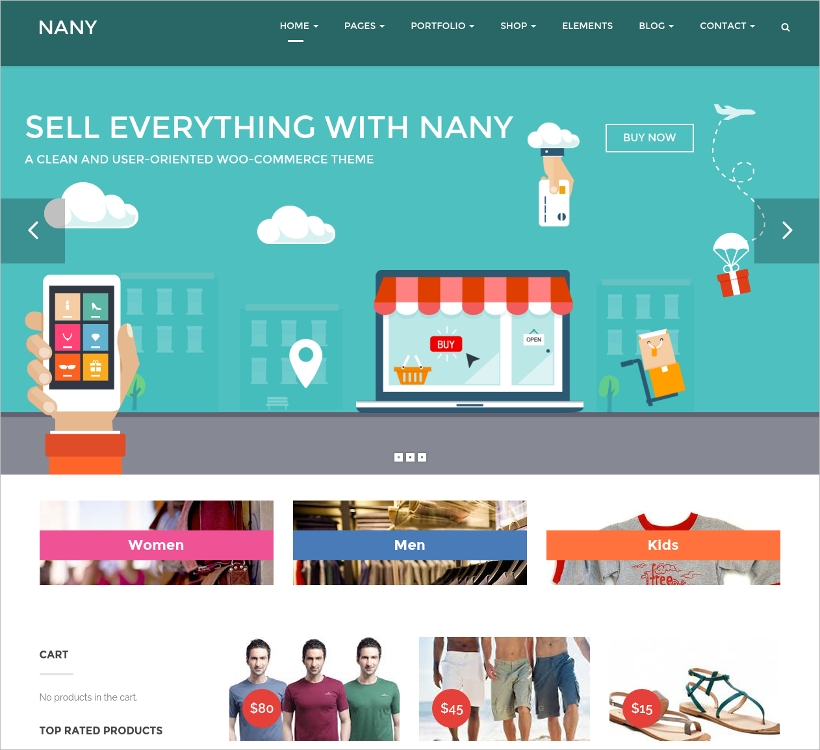 Shopping WordPress Theme