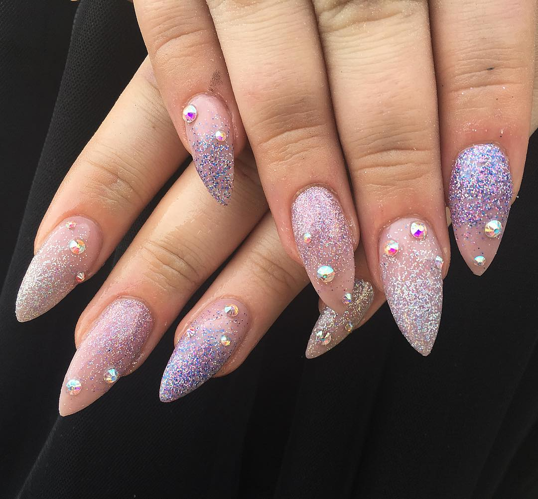 21+ Pointed Nail Art Designs, Ideas | Design Trends - Premium PSD ...