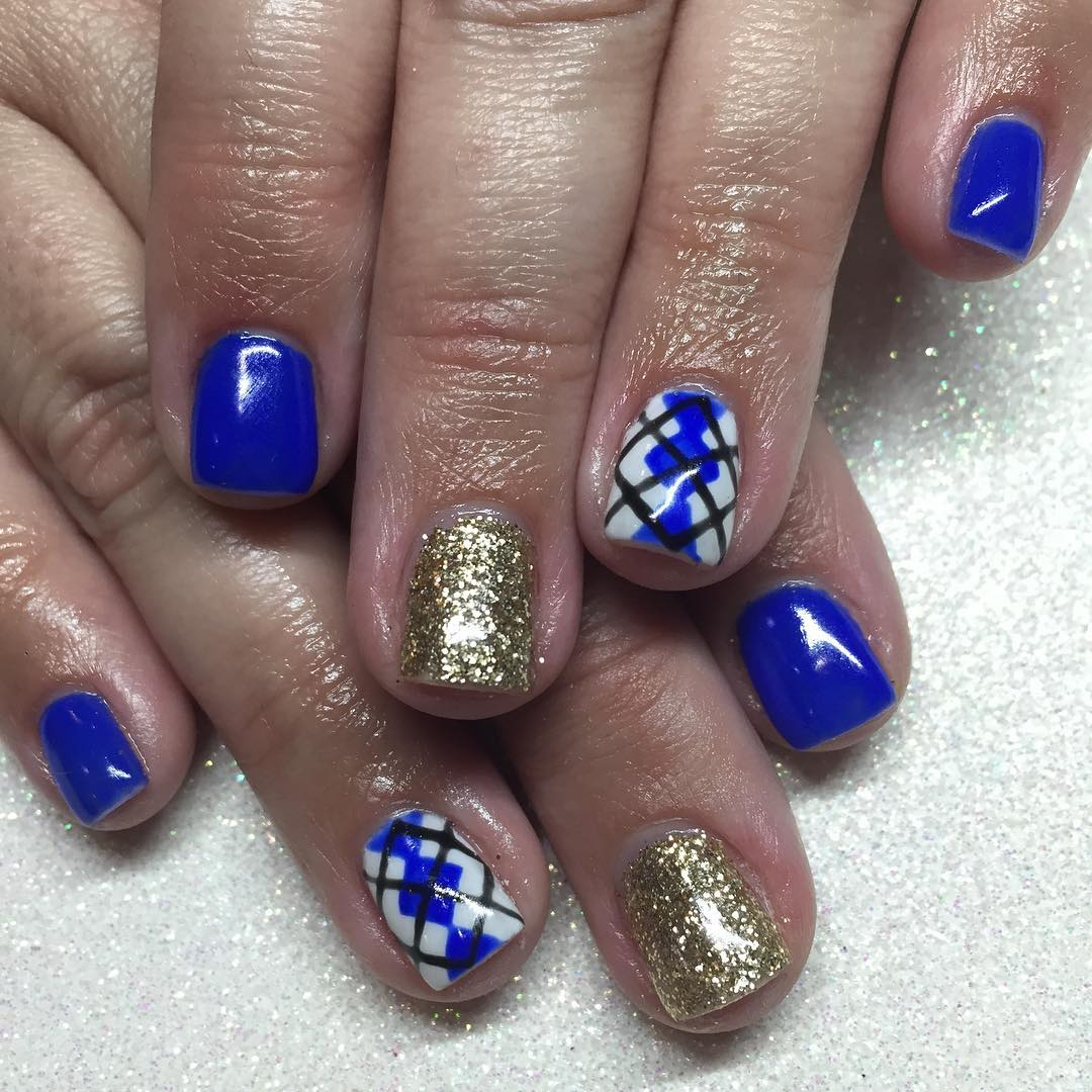 21+ Royal Blue Nail Art Designs, Ideas | Design Trends - Premium PSD ...