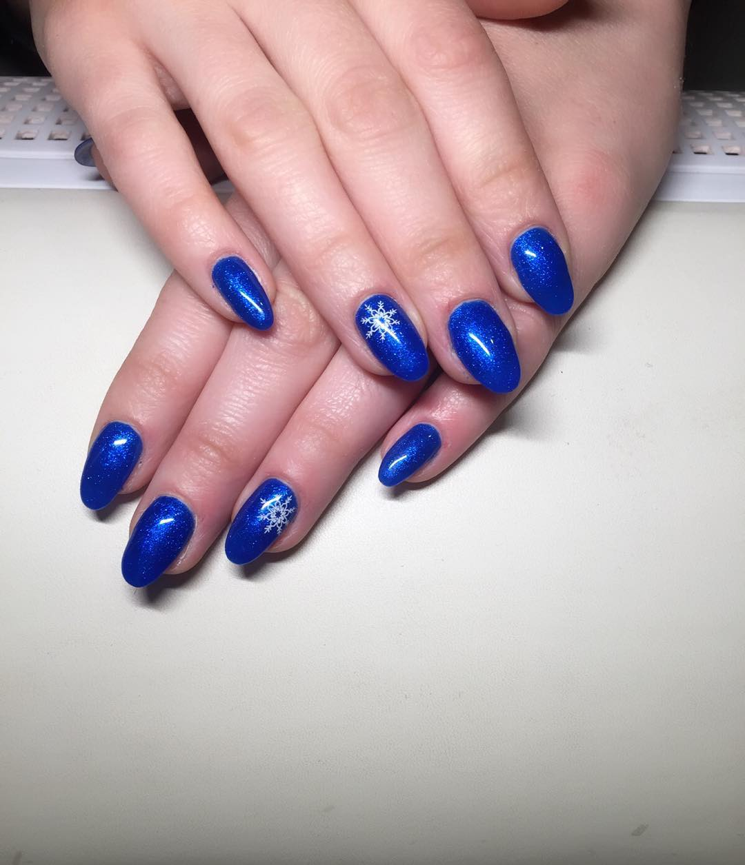 Attractive Royal Blue Nail Art Designs and Ideas - 21+ Royal Blue Nail Art Designs, Ideas Design Trends - Premium PSD