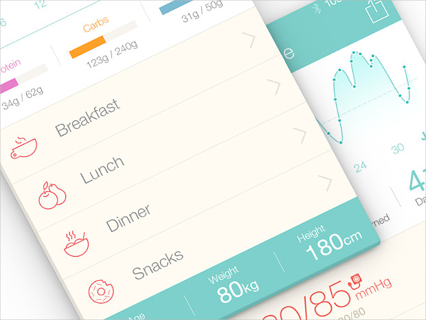 best medical app ui design