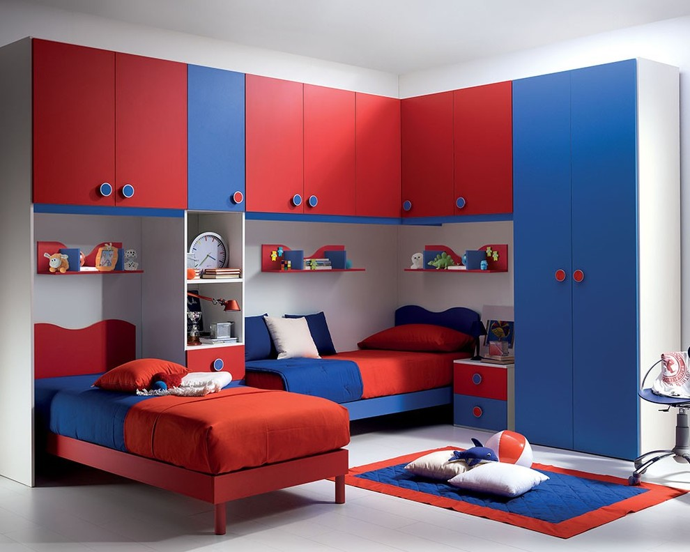 20 kid 39 s bedroom furniture designs ideas plans for Full room furniture design