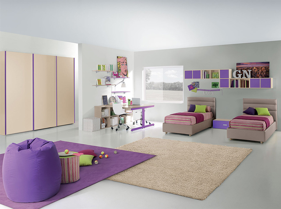 20 kid 39 s bedroom furniture designs ideas plans for Kids bedroom designs