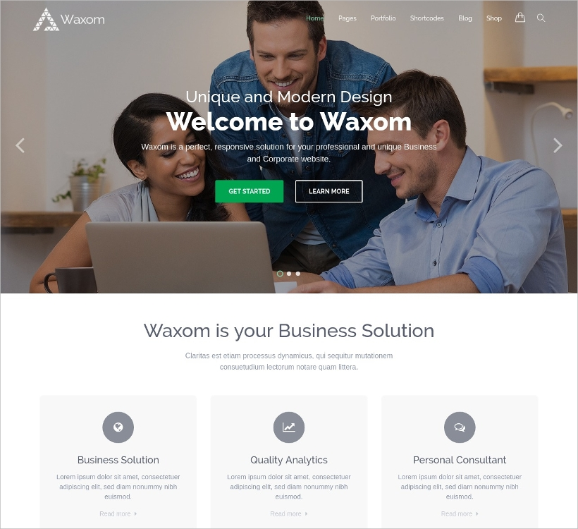 clean universal wordpress theme1