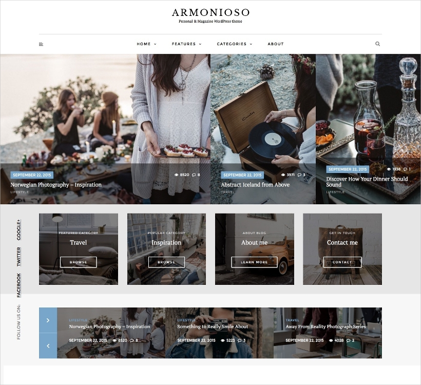 personal magazine wordpress responsive blog theme