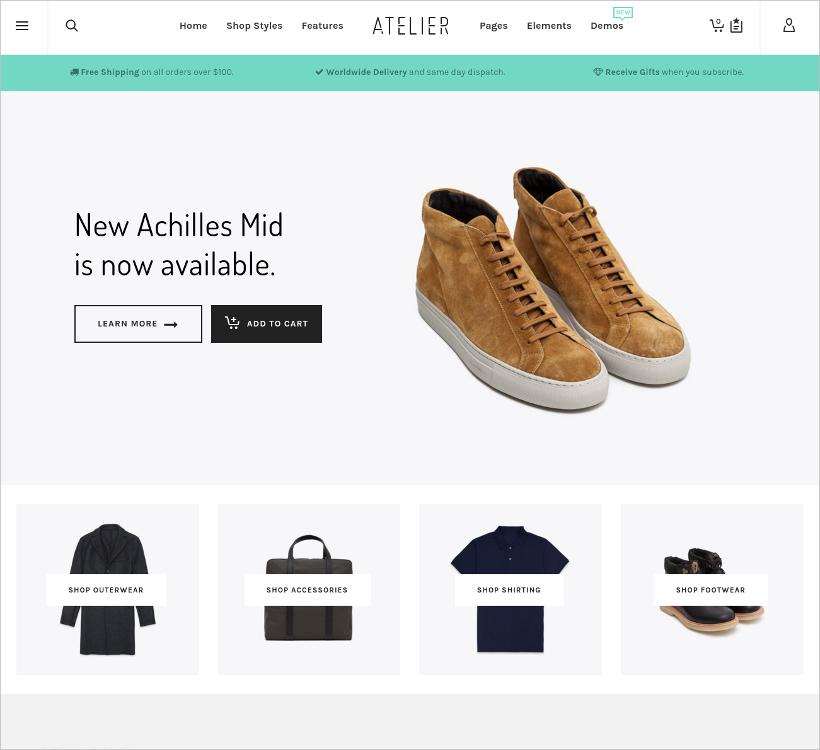Slider Shopy Style eCommerce Theme