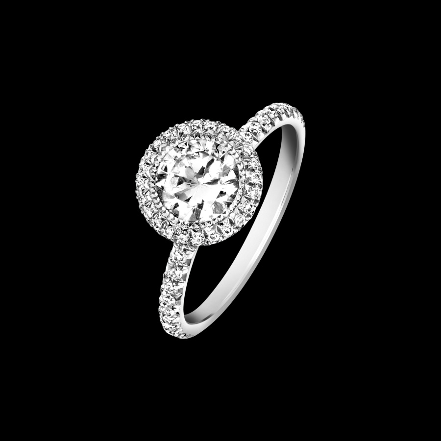 Piaget Vintage Style Engagement Ring