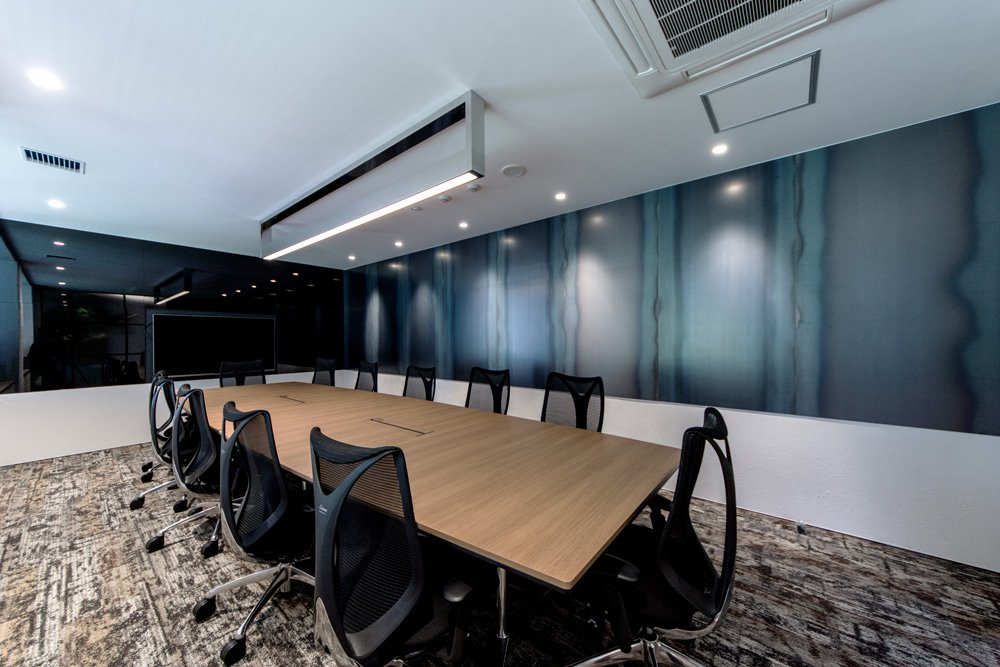 office conference room design. Office Conference Room Roof Idea. Sojitz REIT Advisors Ceiling Design Looks Unique O