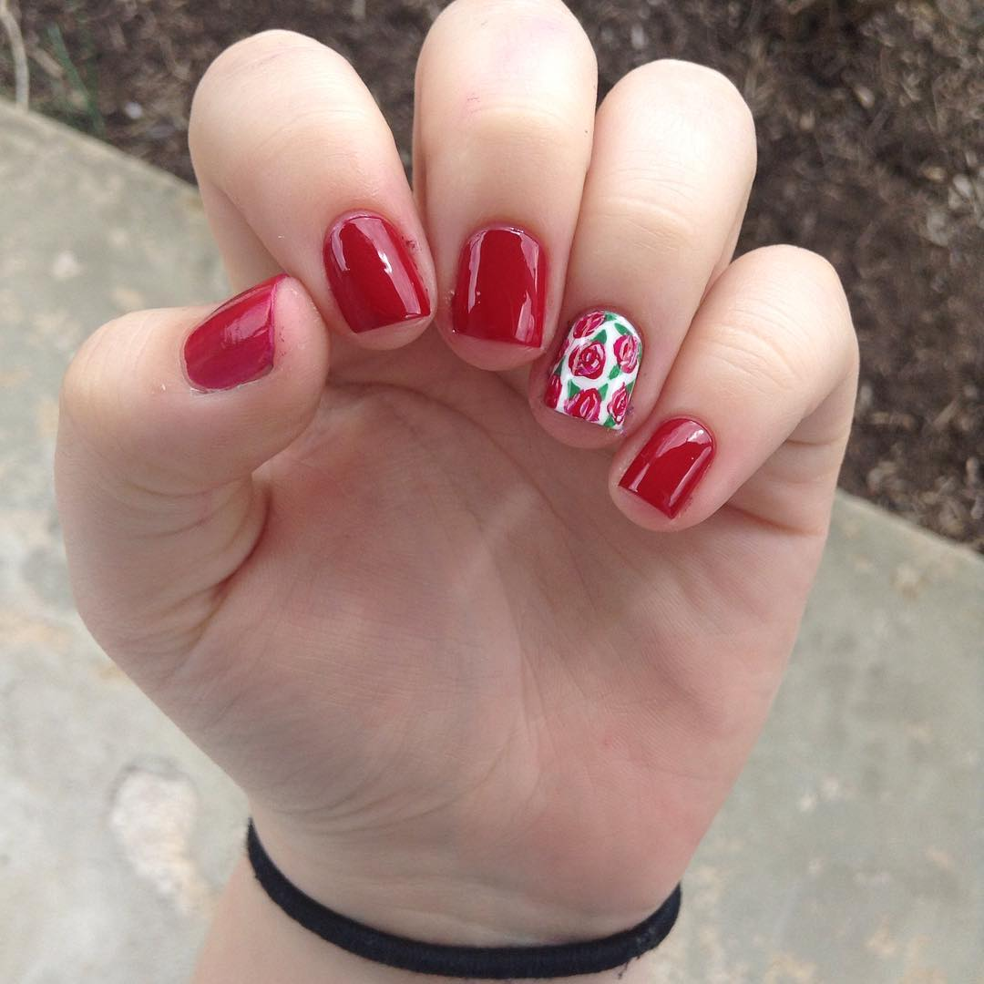 Red Nail Ideas Tumblr The Best Inspiration For Design And Color Of