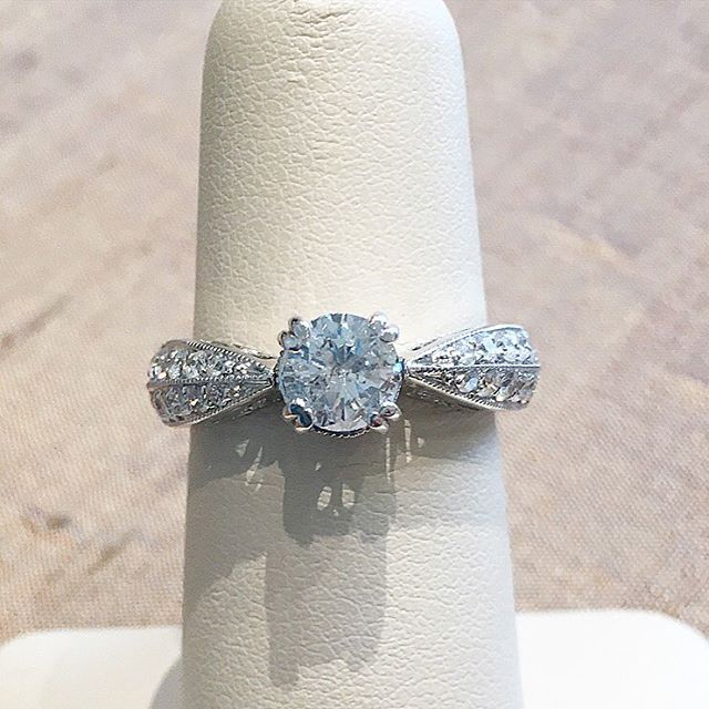 Vintage Designer Engagement Ring