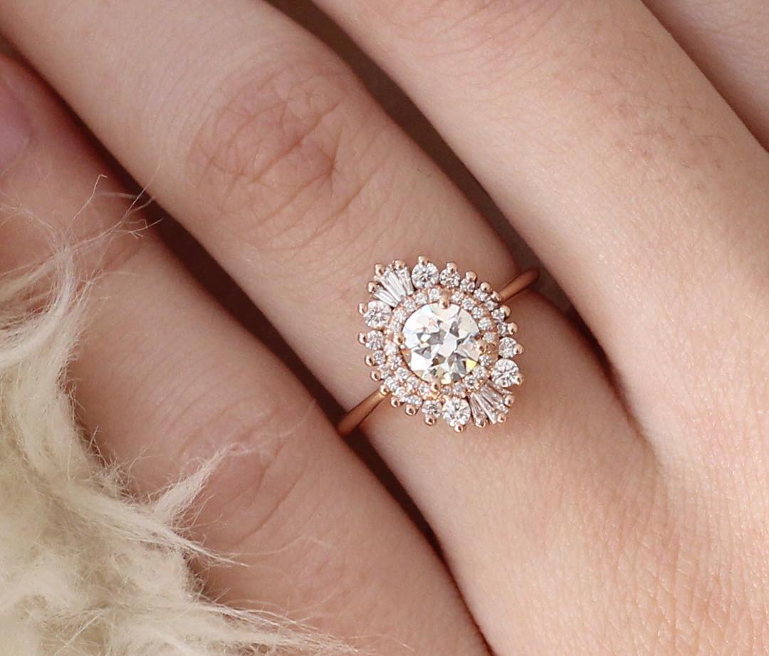 93 simple vintage style engagement rings wedding
