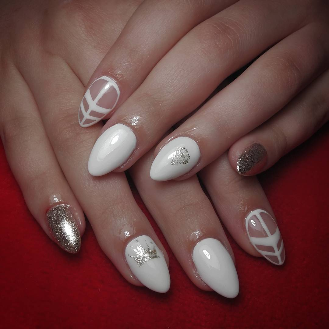 Very White Finger Nails