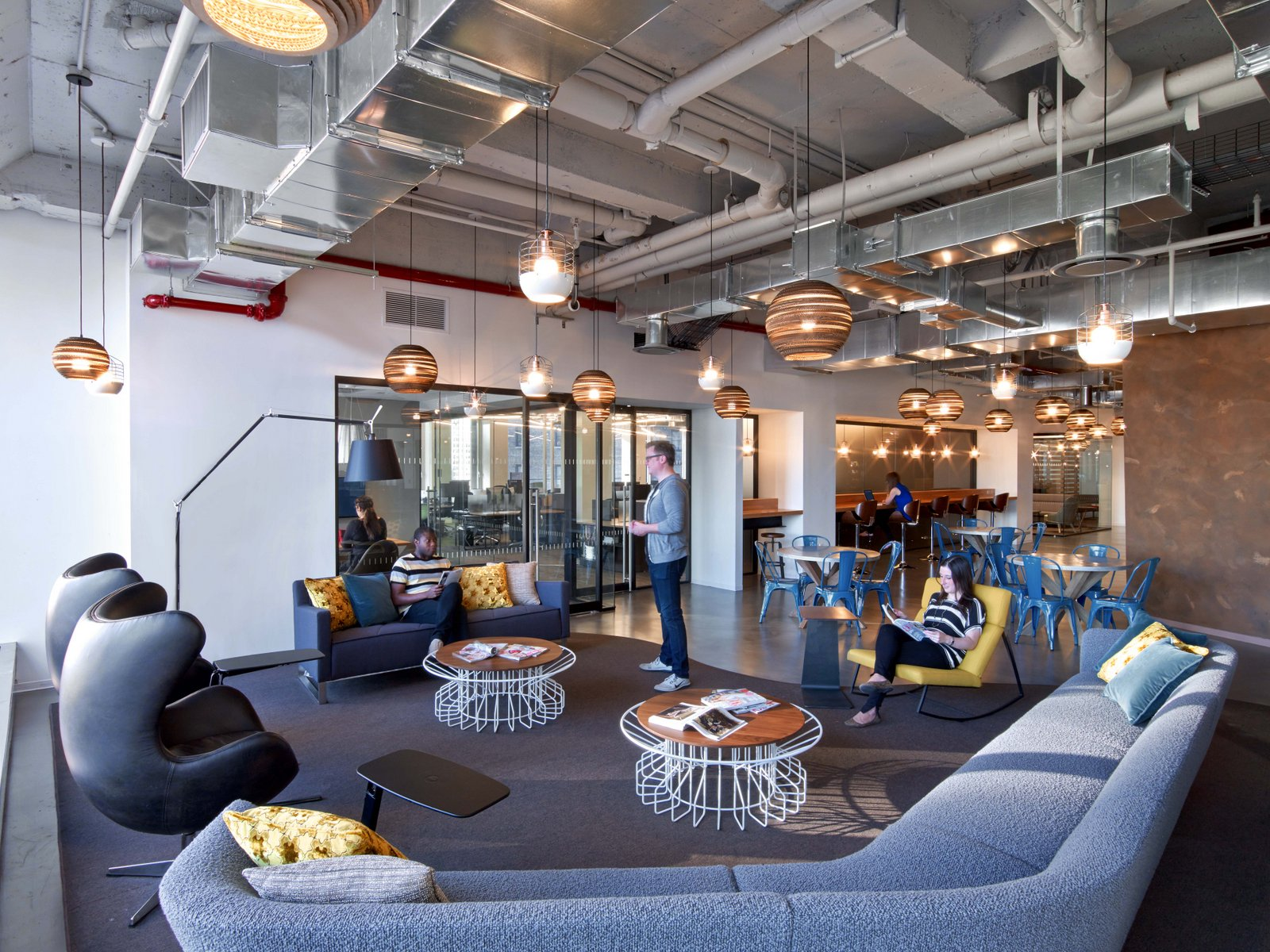 Condé Nast Entertainment Office Workspace Design