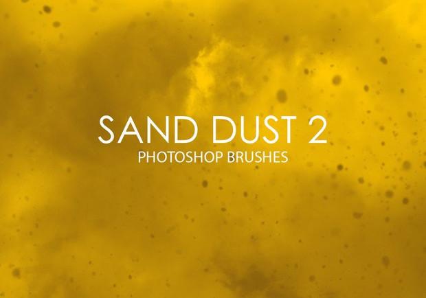 15 sand effect photoshop brushes