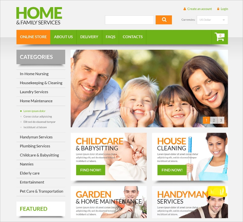 Maintenance Services Joomla Template