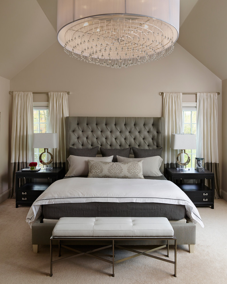 Transitional Bedroom Design Idea
