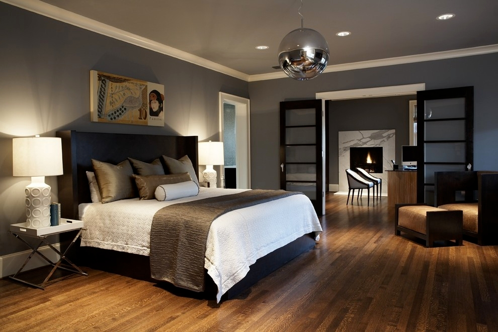 Modern Craftsman Bedroom
