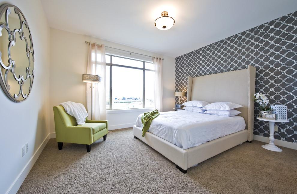 Simple Beadroom Design for Peaceful Sleep