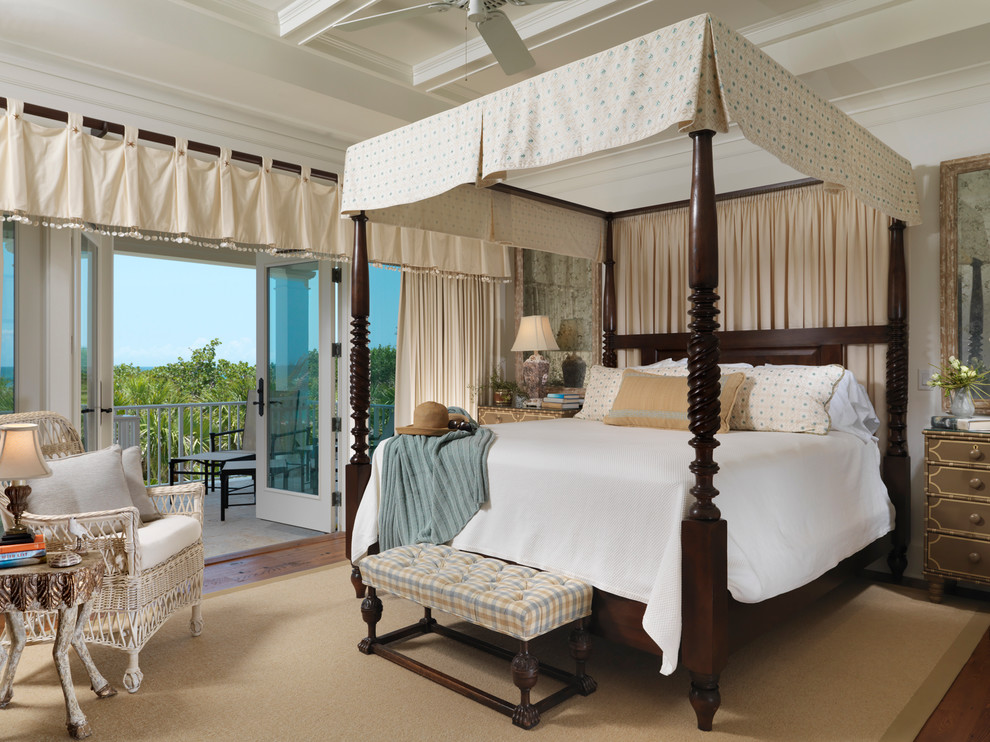 Awesome Bedroom Design in Beachfront Home