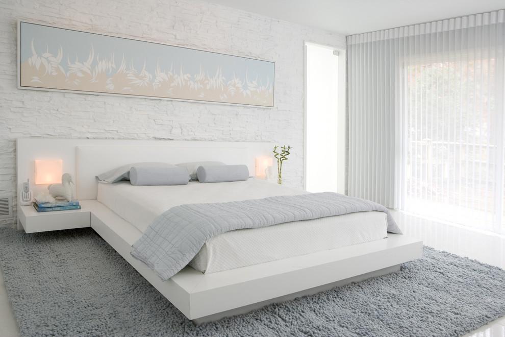 Wonderful Contemporary Bedroom Idea