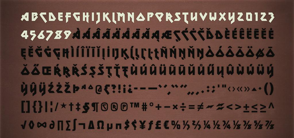 25  best heavy metal fonts