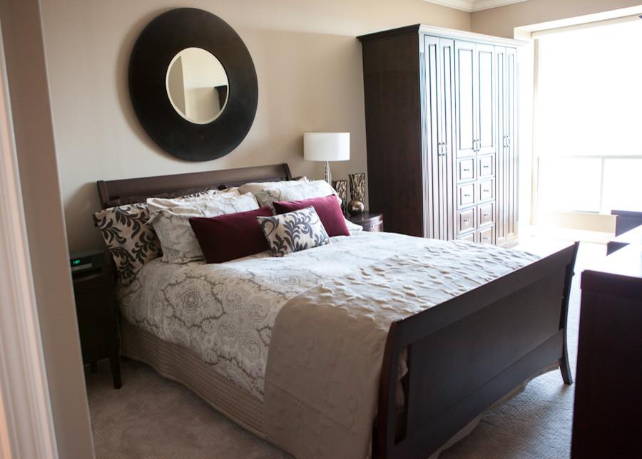 texture layered bedroom design