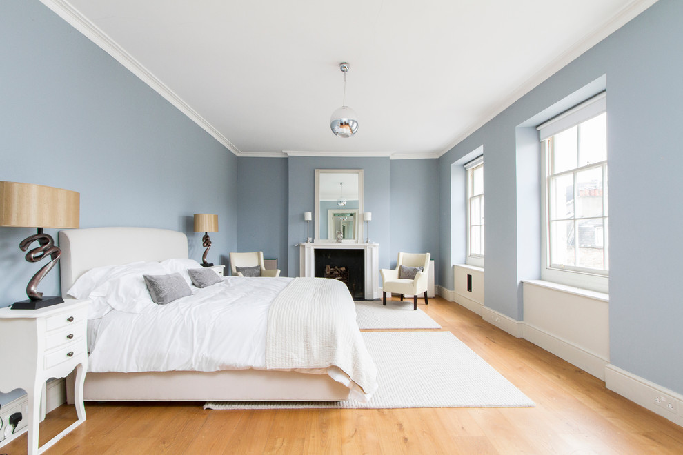 Gray Blue Bedroom Ideas blue walls bedroom