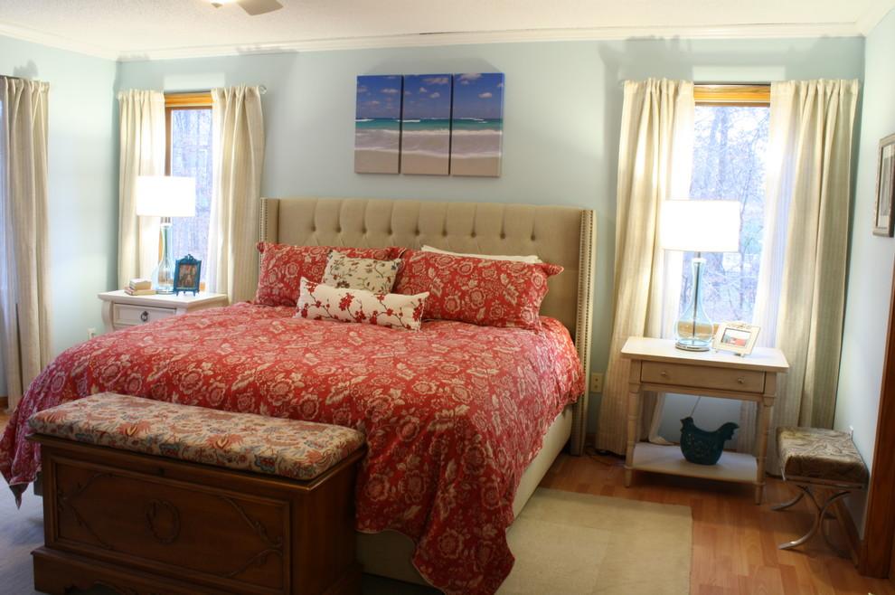 forest lake master design bedroom