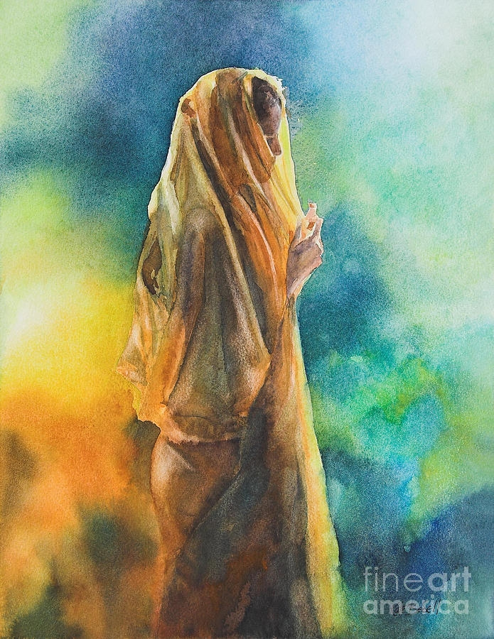 watercolor indian art painting