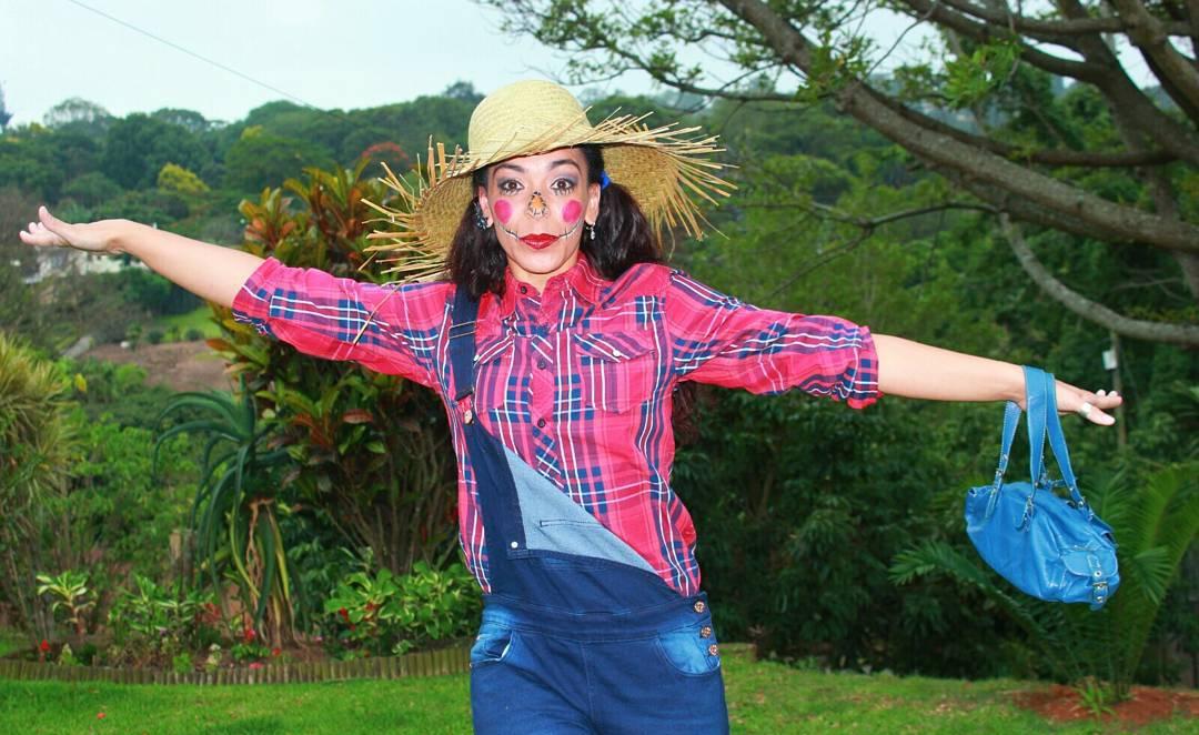 scary scarecrow costume design