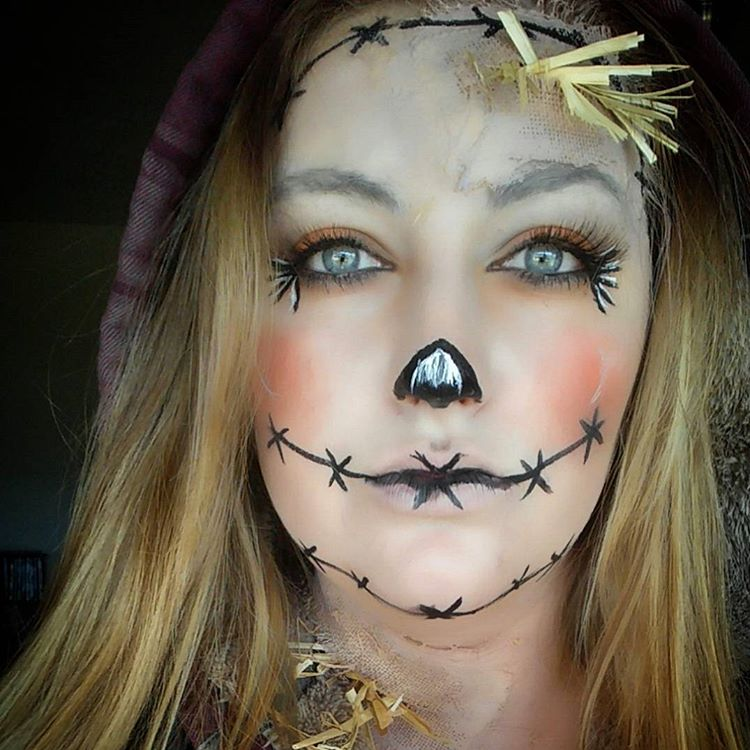 Makeup transformation halloween