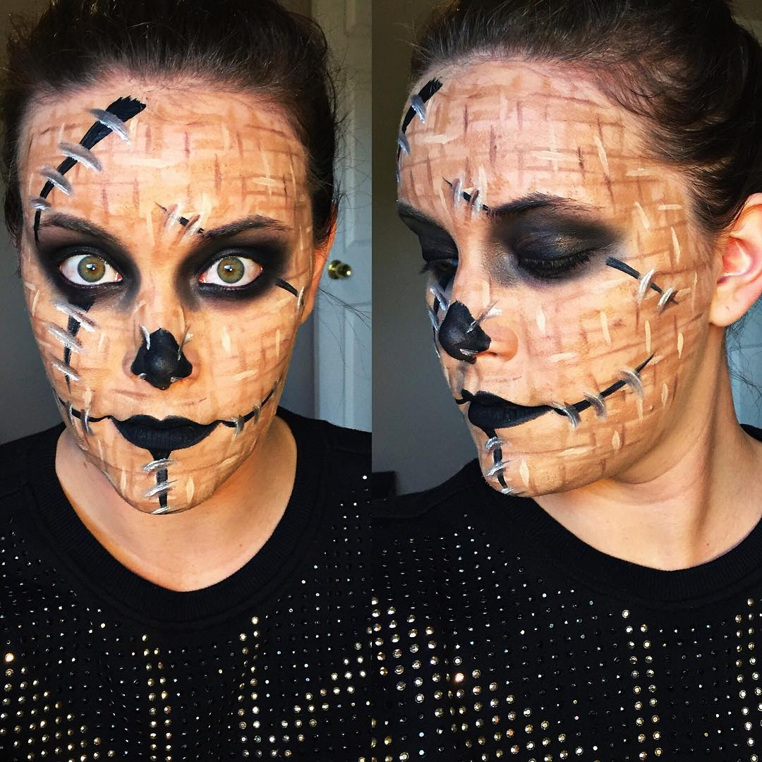 18+ Scarecrow Makeup Designs, Trends, Ideas | Design Trends ...