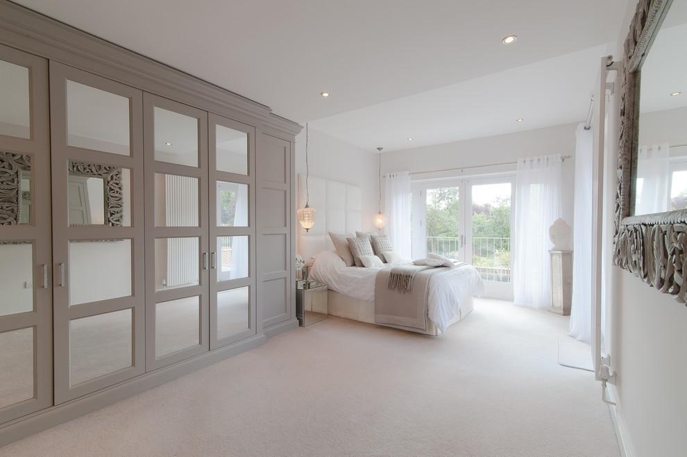 bright furniture design for beach side bedroom